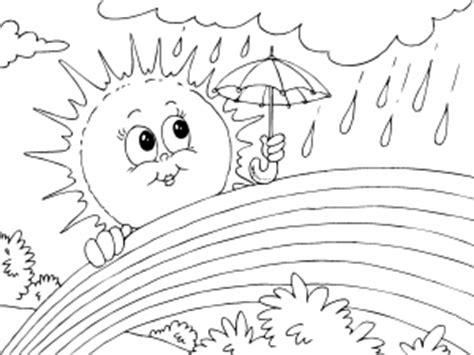 imagenes de invierno y verano para colorear dibujos de verano para colorear paracolorear net