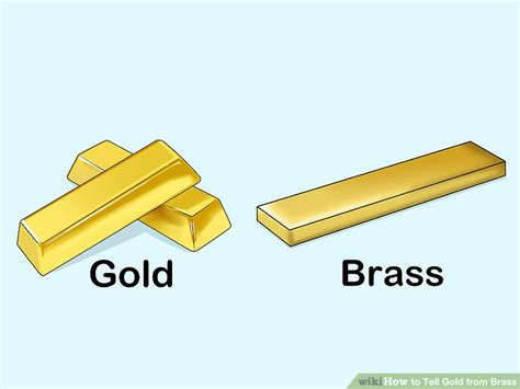 colors that look with gold 3 ways to tell gold from brass wikihow