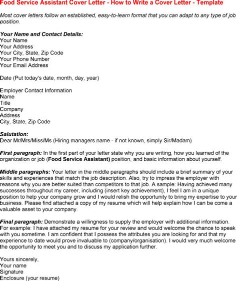Cover Letter For Food Service by Cover Letter Food Service Cover Letter Food Service Worker Cover Letter Food Broker Cover