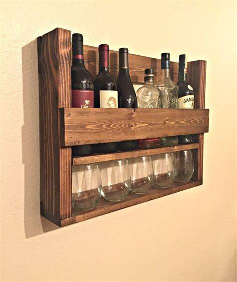Wine Bottle And Glass Rack by Rustic Wine Rack Metal Wine Bottle Holder 5 Bottles