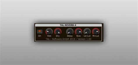 Bedroom Producers Reverb Free Tal Reverb 4 Vst Au Plugin By Togu Audio Line