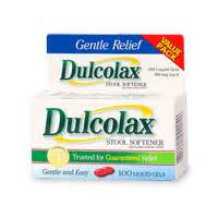 Is Dulcolax A Stool Softener by Dulcolax Value Pack Stool Softener Liquid Gels Gosale