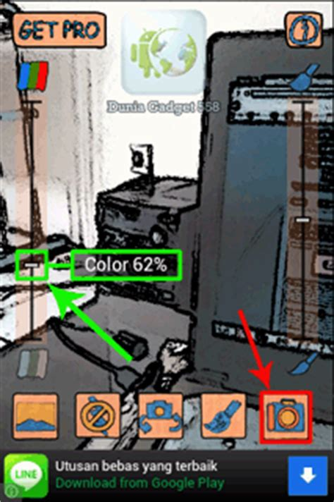 membuat foto menjadi kartun dengan android cara merubah foto jadi kartun pada ponsel android