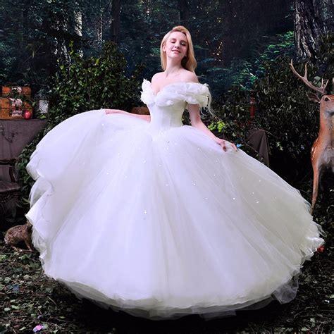 sale 2016 new deluxe cinderella wedding dress costume bridal dress cinderella