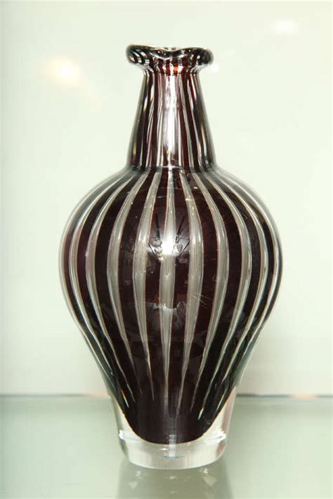 Orrefors Vases by Orrefors Quot Ariel Quot Vase By Edvin Ohrstrom At 1stdibs