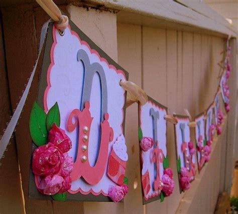 Handmade Baby Shower Banners - handmade banner custom made go green name banner
