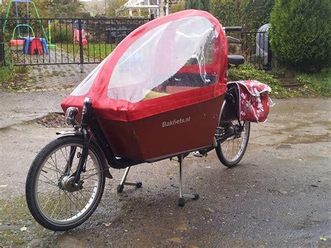 Bicycle Rain Canopy by Bakfiets Rain Tent Rain Canopy Cargobikeguy