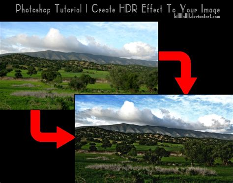 tutorial photoshop cc hdr photoshop tutorial create hdr effect step by step by