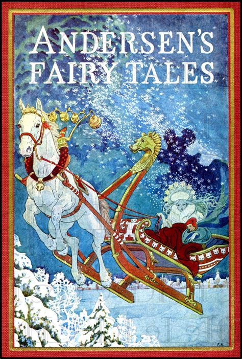 the winter s tale books the snow andersen s tale book cover