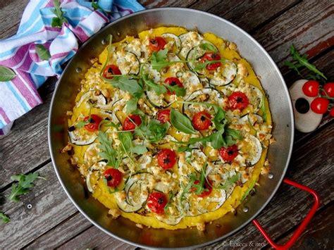 Recette Courgette Grillée by Polenta Grill 233 E Aux Tomates Cerises Courgettes Et Feta
