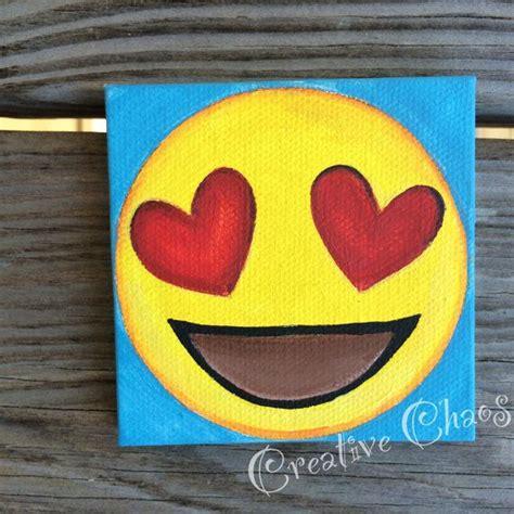 Painting Emoji by Emoji Canvas