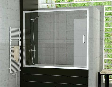 Duschwand für badewannen schiebetür 120 x 150 cm mit