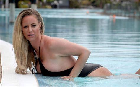 Model Danielle Mason Nude Tit Slip Twice Scandal Planet