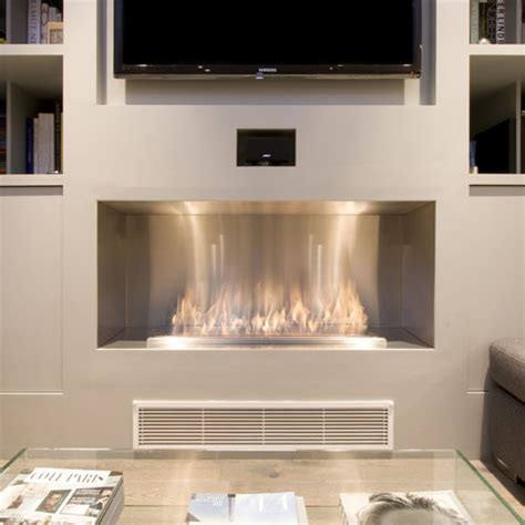 modern ventless gas fireplace inserts ecosmart firebox 1200ss modern ventless fireplace