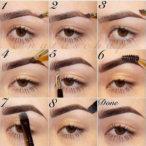 Eyeshadow Inez No 4 as 25 melhores ideias de sobrancelhas passo a passo no