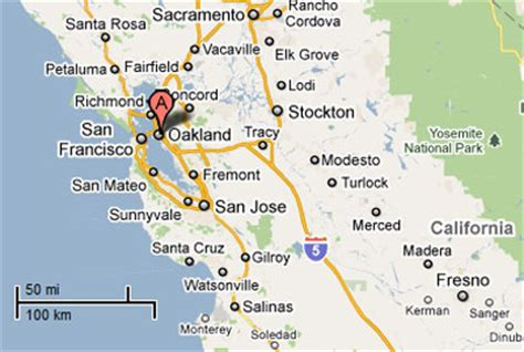 oakland california map oakland ca map pictures to pin on pinsdaddy