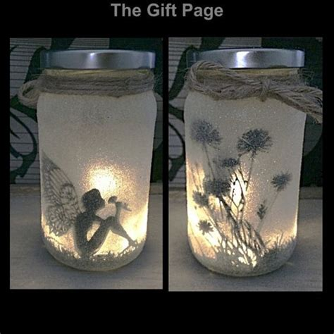 lights in a jar lights in a jar and fairies on