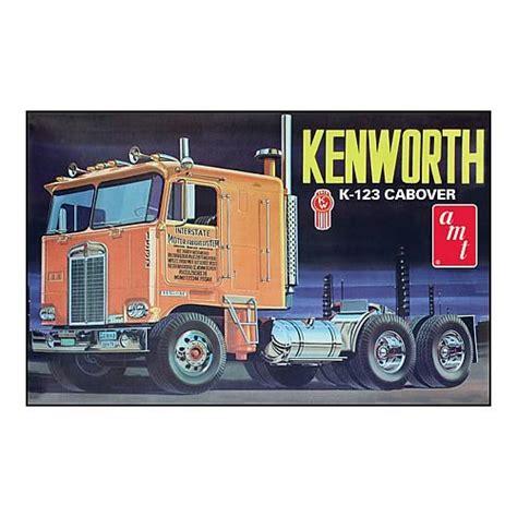 kenworth cabover models kenworth k123 cabover model kit 2 cars
