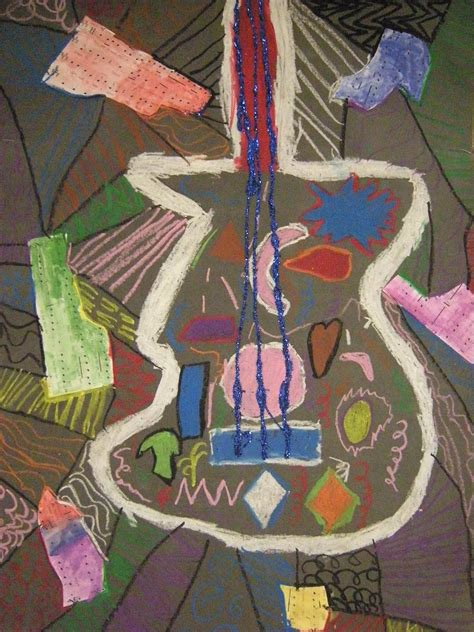 picasso guitar painting what s happening in the room 2nd grade picasso guitars
