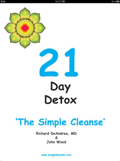 Simple 21 Day Detox 21 day detox the simple cleanse books simple cleanse