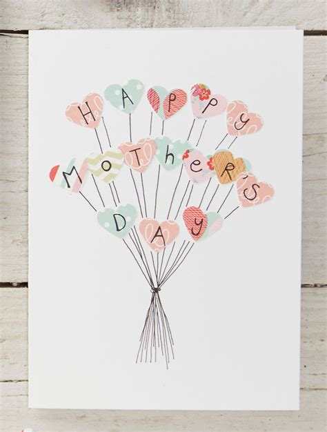 Simple Handmade Mothers Day Cards - 25 best mothers day cards ideas on