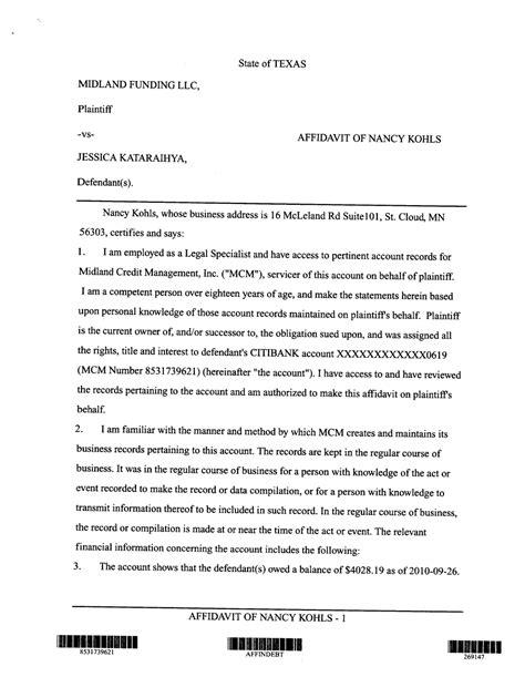 Demand Letter Coa Coa Tx 06 01 2011 07 01 2011