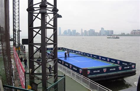 boat club tennis tournament media events chelsea piers nyc