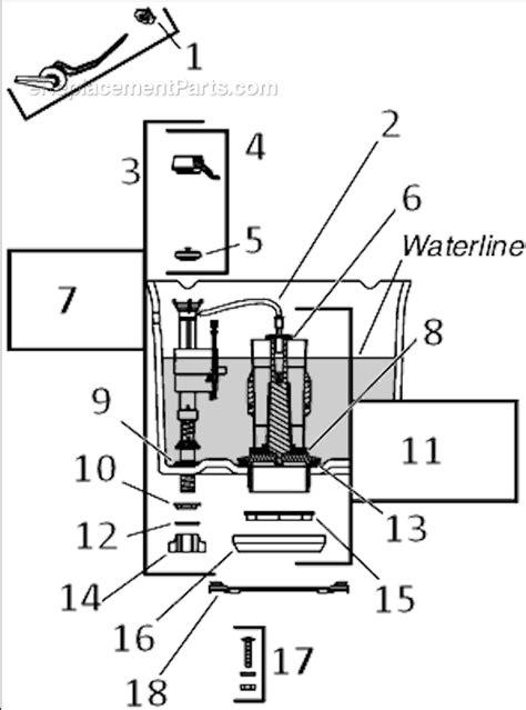 toilet parts diagram toilet free engine image for user