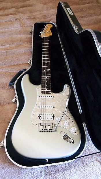 Fender Usa American Standard Stratocaster Hss fender american standard hss stratocaster 2003 blizzard pearl reverb