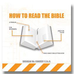 How To Read The Bible how to read the bible redemptorist communications