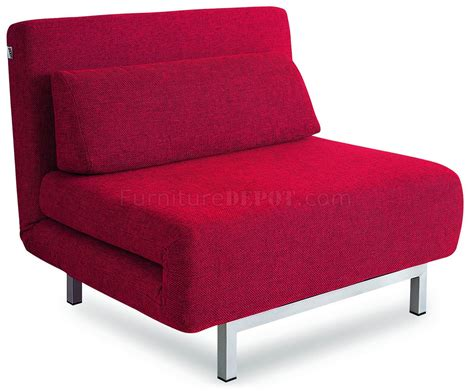 red fabric couch red fabric contemporary sofa bed convertible w metal legs