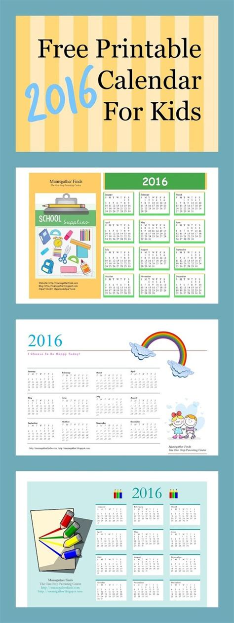 free printable for kids calendar search results for free printable calendar templates for