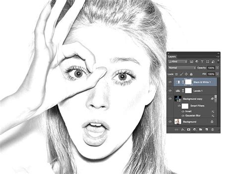 sketchbook or photoshop how to create a realistic pencil sketch effect in photoshop