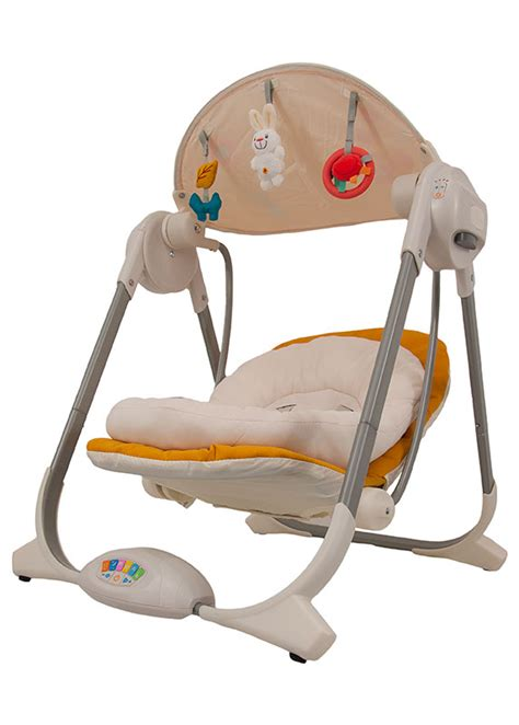 chicco baby swing chicco swing polly jaune upababy 174