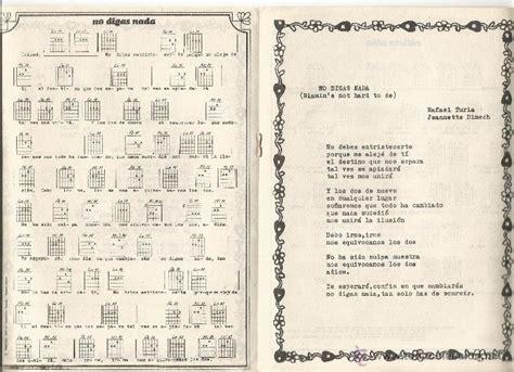 imagenes retro letra y acordes libreto acordes cifrados para guitarra letra ca comprar