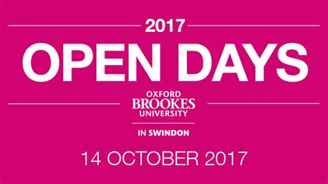 Oxford Mba Open Day by Open Days Oxford Brookes