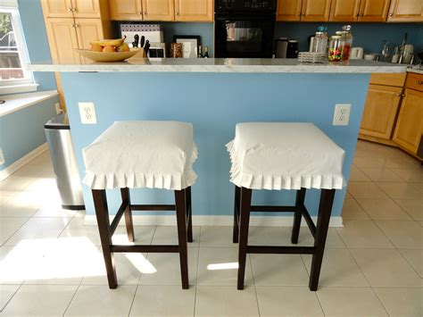 Best Material To Cover Bar Stools by Bar Stool Slipcovers Homesfeed