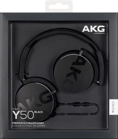 Black Y50 Headphones akg y50 black s蛯uchawki nauszne czarne