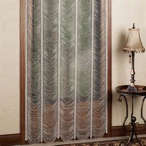 lace curtains sorrento ii ivory string lace curtain panels