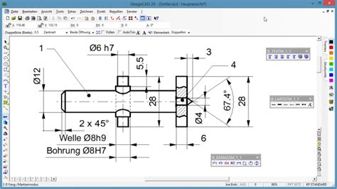 2d cad vollversion 2d designcad freeware de