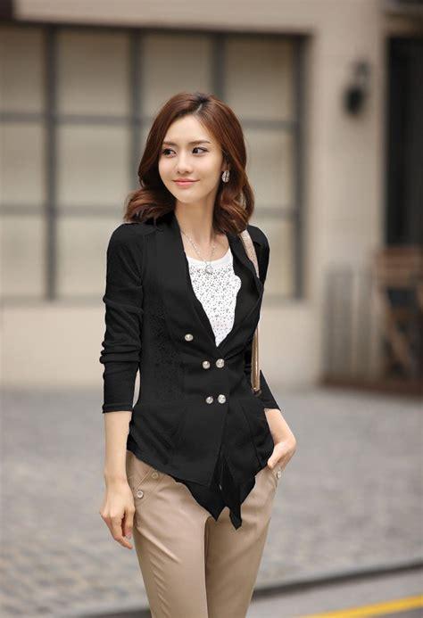 Coat Korea Fashion Blazer Luaran Outer Dress Jaket Baju Wanita Import 5 2012 new classic korea ol style fashion selling casual blazer jacket coat in