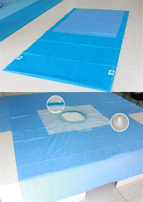disposable surgical drape good quality medical disposable surgical drape pack for c