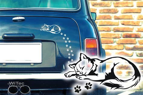 Auto Aufkleber Pfoten by Autoaufkleber Katze Katzenpfoten Auto Aufkleber