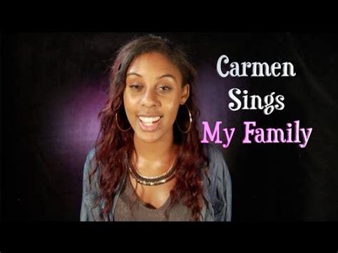 who sings my sings my family