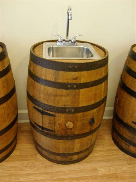 whiskey barrel sink stainless steel sink faucet access door  shipping ebay