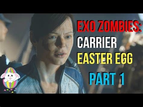 exo zombies carrier easter egg exo zombies carrier easter egg part 1 call of duty