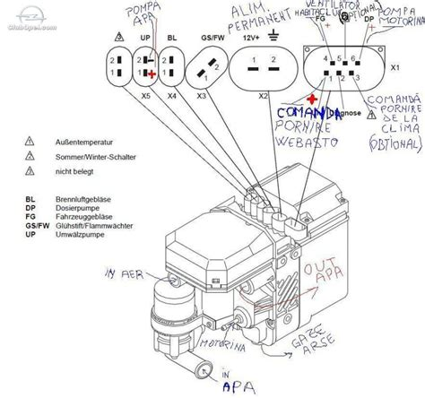 webasto thermo top c wiring diagram webasto heater diagram
