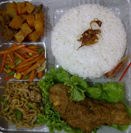 Nasi Pecel Samset Paket Murah Makan Makan Siang jenuh memilih makan siang ini solusinya hanaita catering