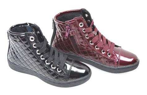 geox kid shoes geox junior sneaker shoes nero bordeaux j