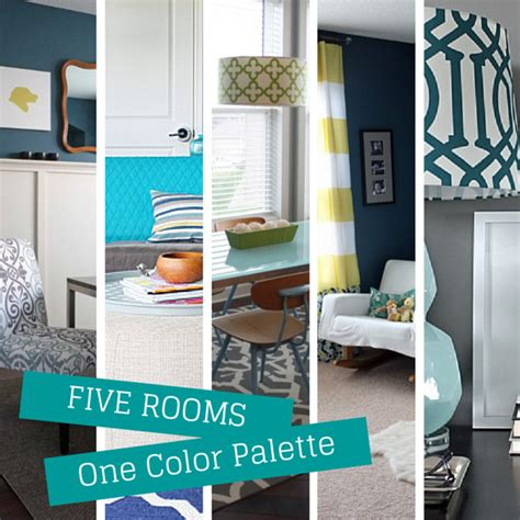 2014 elegant color combination of study room how to use the same color palette five different ways